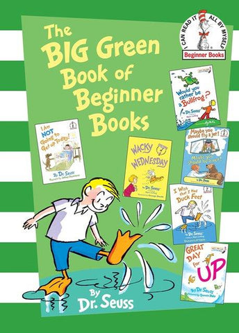 Dr. Seuss The Big Green Book of Beginner Books