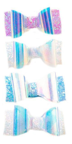 Great Pretenders Fashion - Glow Bows Hairclips