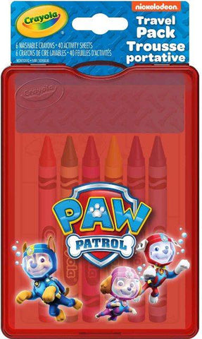 Crayola Mini Travel Pack Paw Patrol