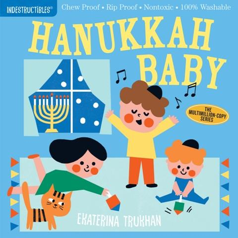 Indestructibles Hanukkah Baby