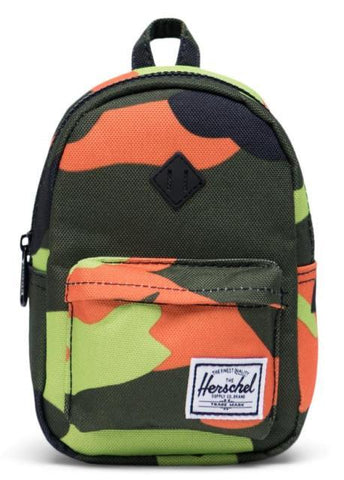 Herschel Heritage Mini Backpack Black/Neon Camo