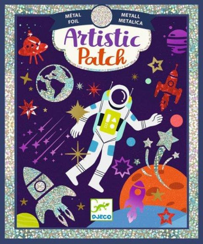 Djeco Art Kit - Artistic Patch Metallic Cosmos