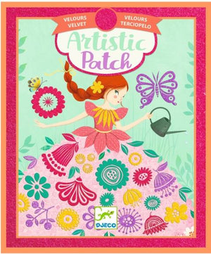 Djeco Art Kit - Artistic Patch Velvet Fair Maidens