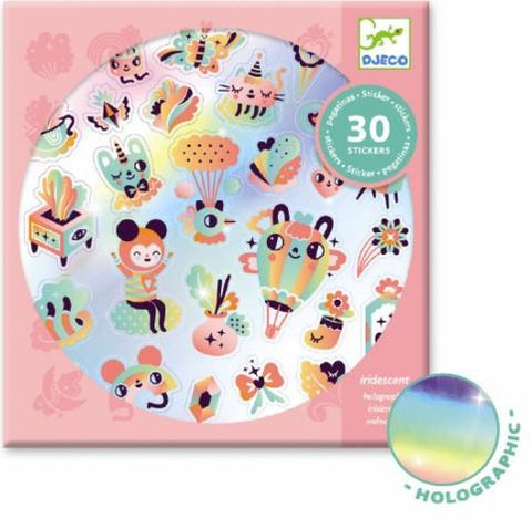 Djeco Art - Stickers Holographic Lovely Rainbow
