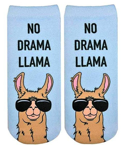 Living Royal Ankle Sock No Drama Llama