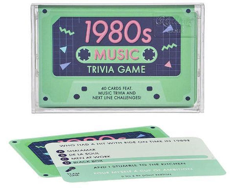 Ridley's Games Tape Quiz 1980s Music Trivia