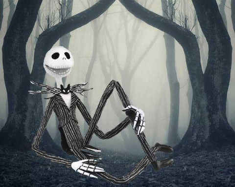 Folkmanis Puppet - The Nightmare Before Christmas Jack Skellington