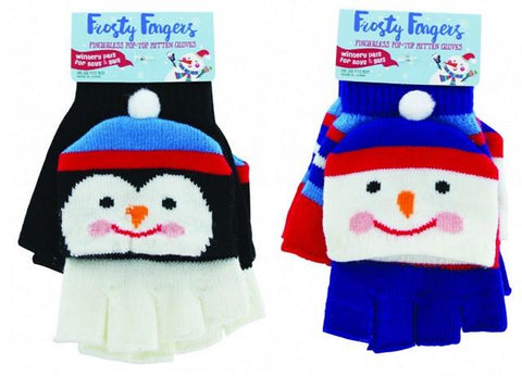 Frosty Fingers Fingerless Gloves