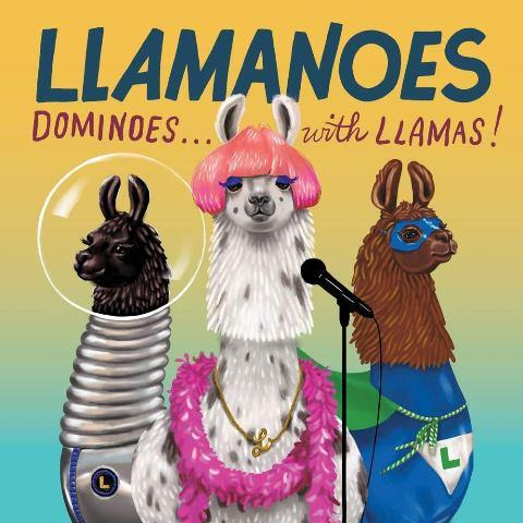 Llamanoes:  Dominoes...with Llamas!