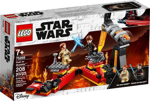 LEGO Star Wars Duel on Mustafar
