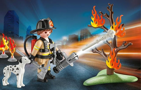 Playmobil Carry Case Small Fire