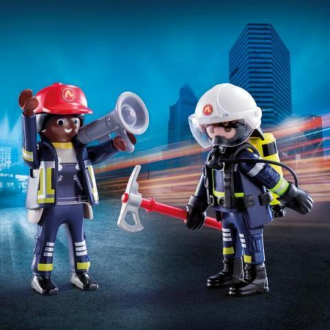 Playmobil Duo Rescue Firefighters