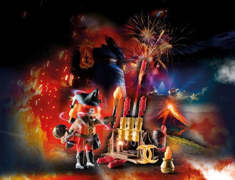 Playmobil Novelmore Fire Master with Cannon