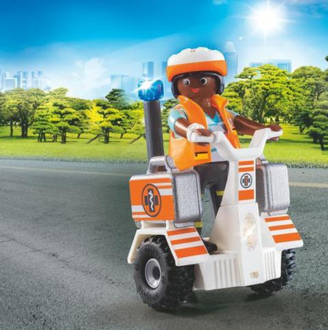 Playmobil City Life Rescue 911 - Balance Racer