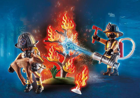 Playmobil Rescue Forest Fire Squad