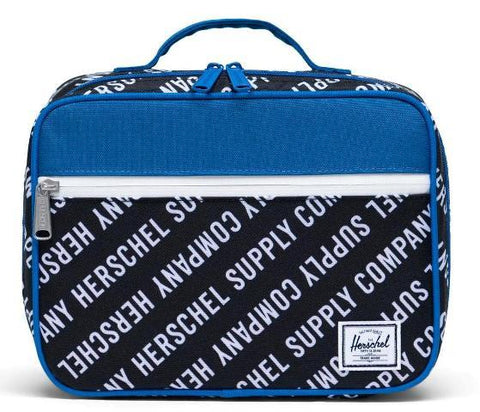 Herschel Pop Quiz Lunchbox Roll Call/White/Lapis