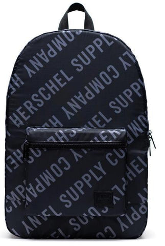 Herschel Packable Daypack Roll Call/Black/Shark Skin