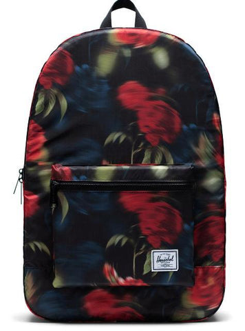 Herschel Packable Daypack Blurry Roses