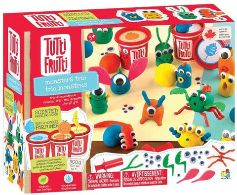 Tutti Frutti Trio Monsters