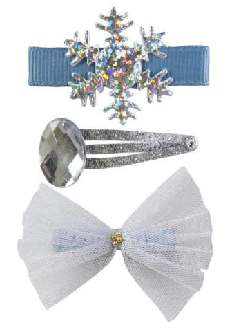 Great Pretenders Fashion - Ice Crystal Hairclips