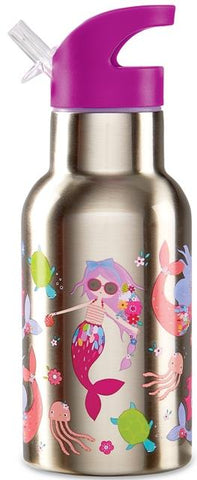 Crocodile Creek Stainless Steel Bottle Mermaids