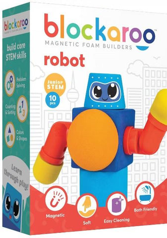 Blockaroo Magnetic Foam Builders Robot