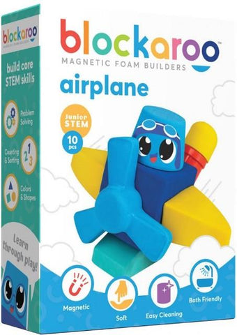 Blockaroo Magnetic Foam Builders Airplane