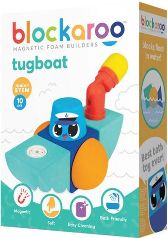 Blockaroo Magnetic Foam Builders Tugboat