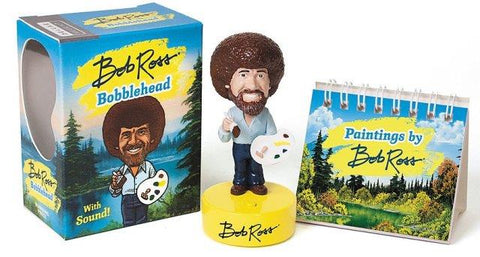 Little Box Bob Ross Bobblehead with Sound