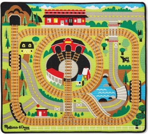 Melissa & Doug Rug Around the Rails