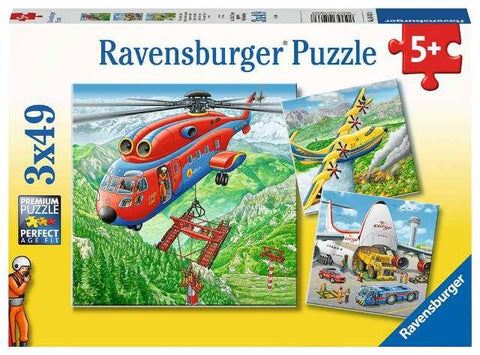 Ravensburger Puzzle 3 x 49 Piece, Above the Clouds
