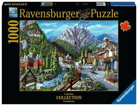 Ravensburger Puzzle Canadian Collection 1000 Piece, Welcome to Banff