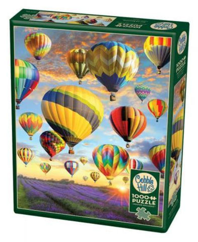 Cobble Hill Puzzle Hot Air Balloons, 1000 Piece