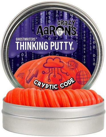 Aaron's Thinking Putty Ghostwriters Crptic Code