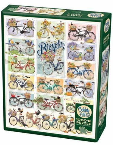 Cobble Hill Puzzle Bicycles, 1000 Piece