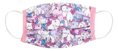 Great Pretenders Childs Face Mask - Unicorns