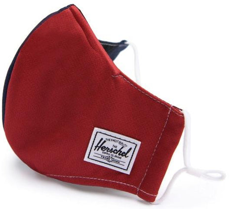 Herschel Classic Fitted Face Mask Red/Navy