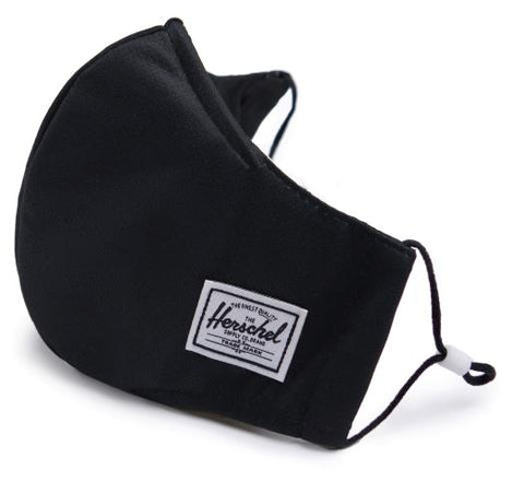 Herschel Face Mask Black