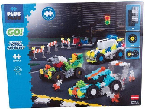 Plus-Plus Go! Street Racing Set
