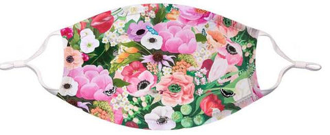 GreenBox Art Face Mask Large/XLarge Haute House Floral