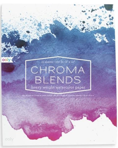 Ooly Chroma Blends Watercolor Paper Pad