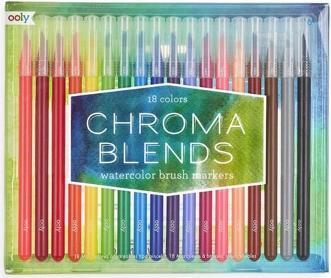 Ooly Chroma Blends Watercolour Brush Markers