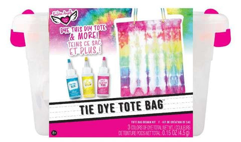 Fashion Angels Neon Tie Dye Tote Design Kit