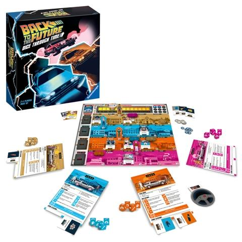Ravensburger Game - Back to the Future Race Through Time