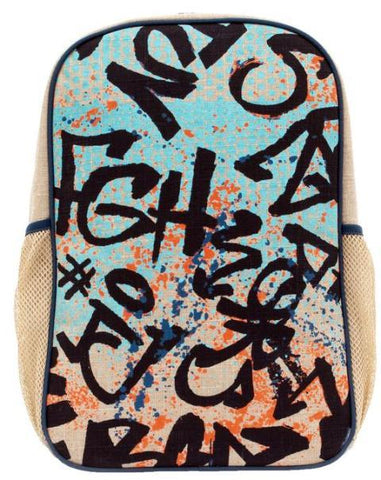 SoYoung Grade School Backpack Colourfull Graffiti