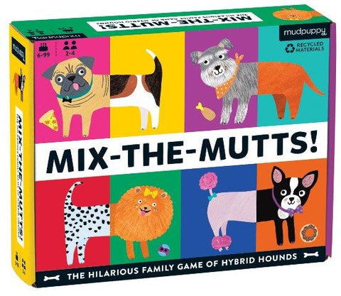Galison Mudpuppy Game - Mix-the-Mutts!