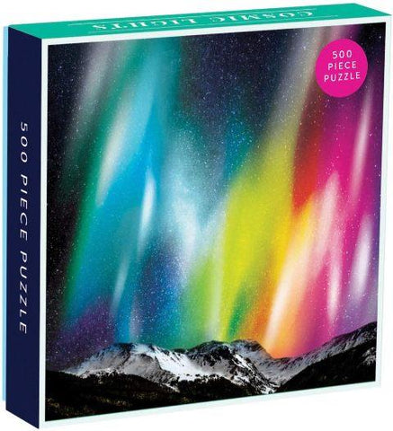 Galison Mudpuppy Puzzle - Cosmic Lights, 500 Piece