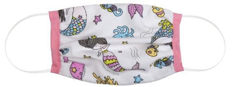 Great Pretenders Childs Face Mask - Mermaid