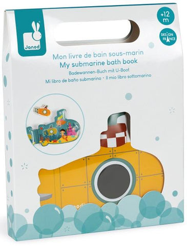 Janod Bath - Submarine Bath Book