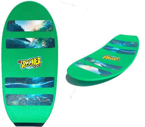 Spooner Board Freestyle Green